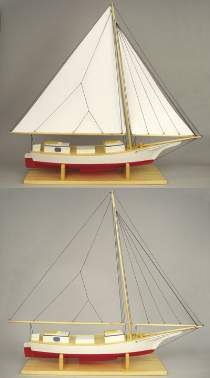 Skipjack Sailboat Building Plans