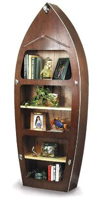 Speed Boat Bookshelf Building Plans